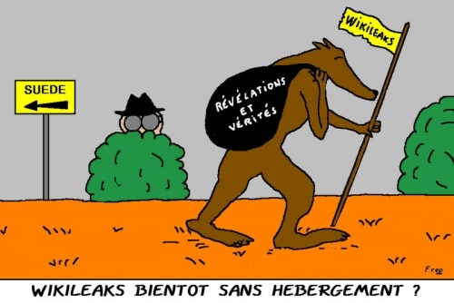WIKILEAKS  BIENTOT  SANS  HEBERGEMENT  ?