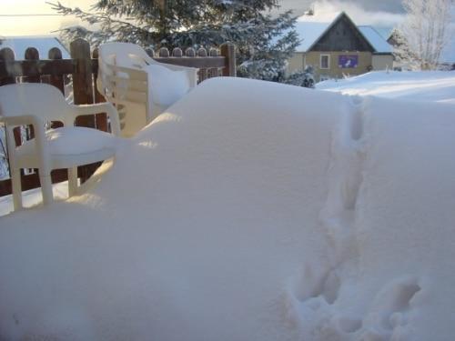 Pourquoi ne pas recycler la neige ?