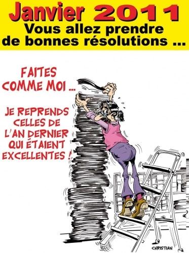 Bonnes résolutions …pour 2011