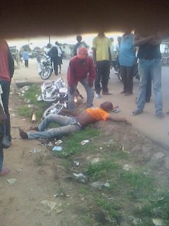 Encore un moto-taxi impliqué dans un accident
