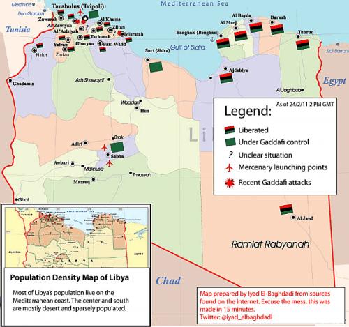 Libye : vues du Maghreb et du Maghrek