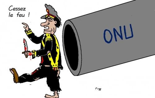 Libye :  cessez-le-feu  ?
