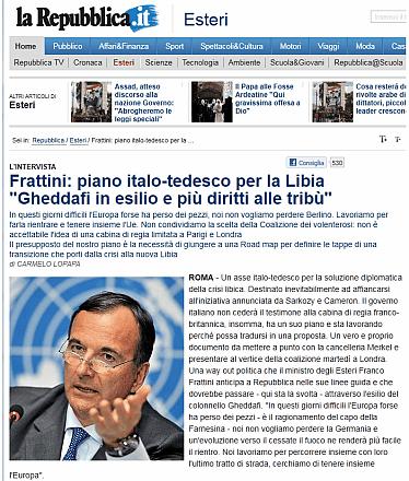 Libye : les forces de l'Axe