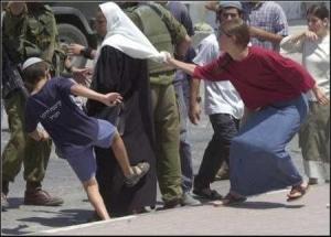 Palestine occupée ou une femme raisonnable