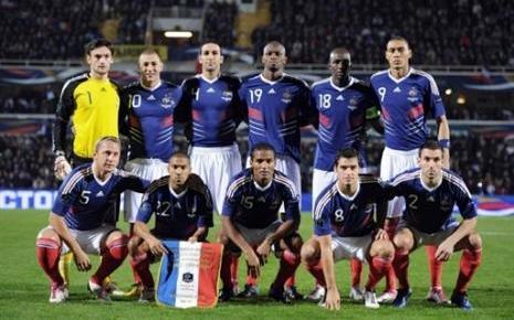 Football : l'Equipe de France de mal en pis