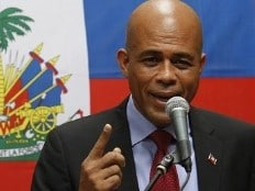Haïti, Martelly président.