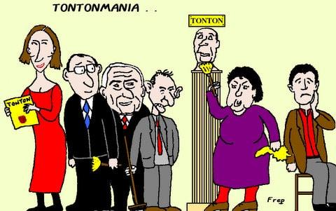 TONTONMANIA . .