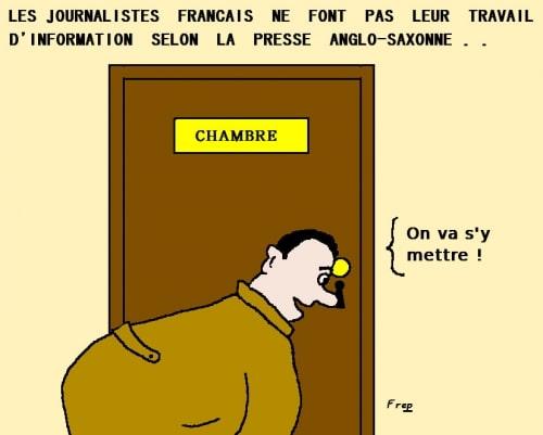 Les  journalistes  français  cachent-ils  la  vérité ?