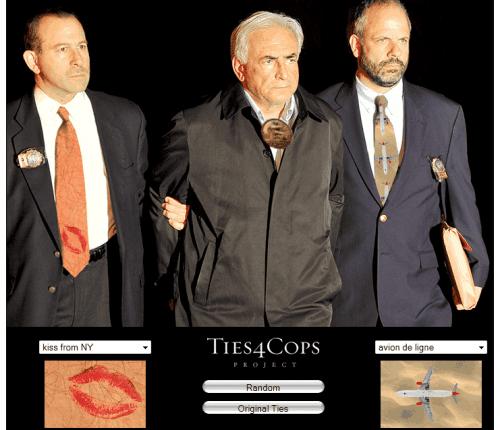 DSK épinglé, DSK cravaté, DSK par lui-même…