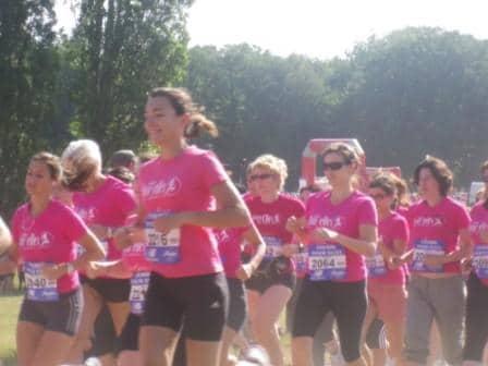 Courir pour elles : une course pas comme les autres .