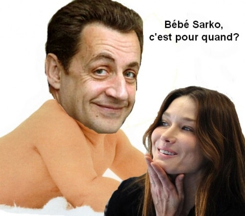 Bébé Sarko, c'est pour quand?
