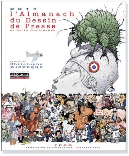 Almanach 2011 du dessin de presse et de la caricature