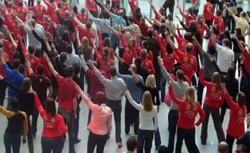 Flashmob: la grande mode