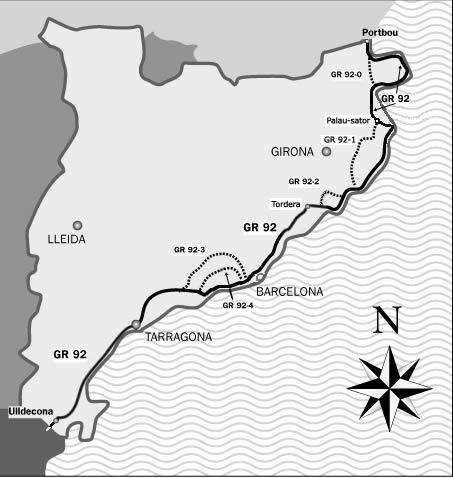 Randonnées sur la Costa brava: Le GR 92