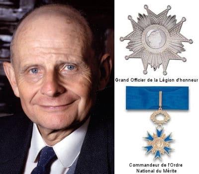 MEDIATOR : SERVIER, Chevalier de la légion d'honneur en 2009.
