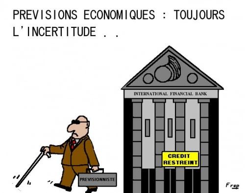 Prévisions  économiques  :  toujours  l'incertitude . .