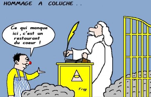 COLUCHE  ,  25  ANS  DÉJÀ . .