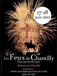 Les Feux de Chantilly nouvelle version, ont lieu ce week-end.