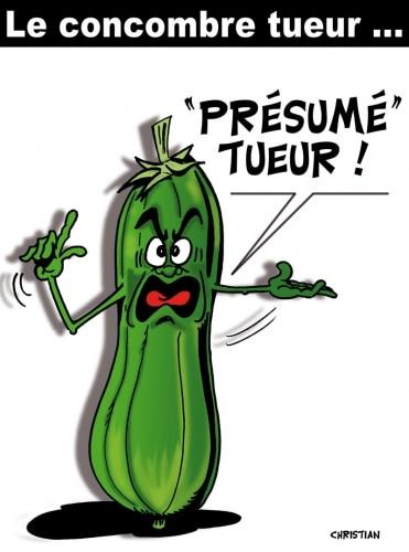 LE CONCOMBRE TUEUR ! …