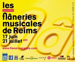 Qu'il fait bon flâner en musique à Reims.