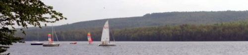 On prépare l'été au lac des Vieilles Forges