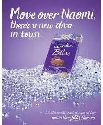 Pousse-toi d'là, Naomi, place à la nouvelle vache !