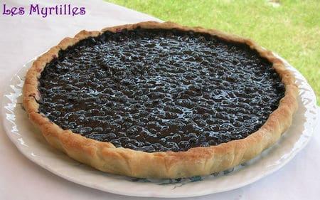 La tarte aux myrtilles, summum de la gastronomie ardennaise.