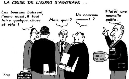 La  crise  de l'euro s'aggrave !