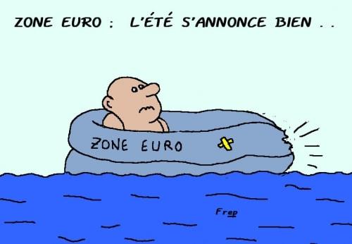 Zone euro : l'été s'annonce  bien  !
