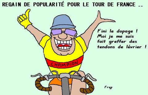Regain de popularité du Tour de France