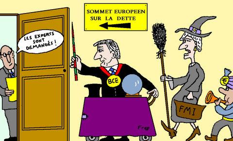 PREPARATION  DU  SOMMET  EUROPÉEN  SUR  LA  CRISE   DE   LA  DETTE