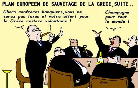 Plan  européen  de  sauvetage de la Grèce : qui va payer ? ?