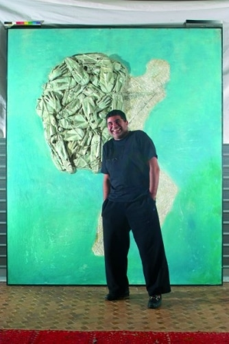 Mahi Binebine peintre et auteur marocain