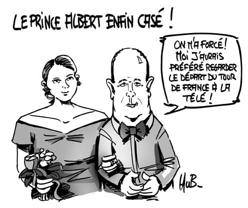 Le prince Albert privé de Tour de France