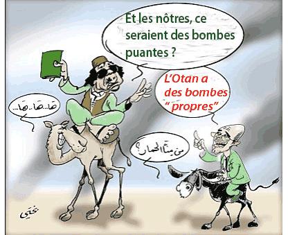 Libye : l'Otan prête à tout pour « sa » victoire ou « son » triomphe ?