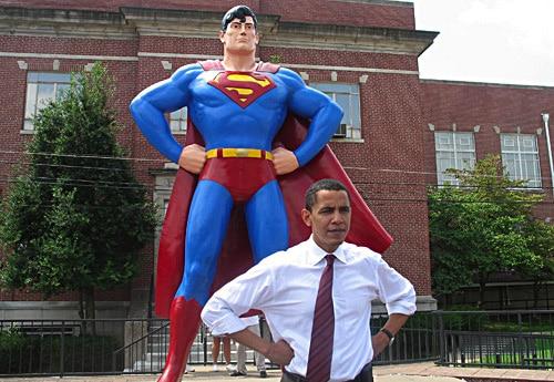 Super Obama n'est pas mort ,gare à twitter