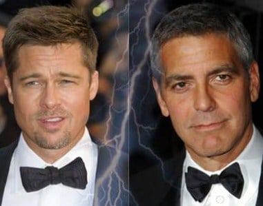 Êtes vous Brad Pitt ou Georges Clooney