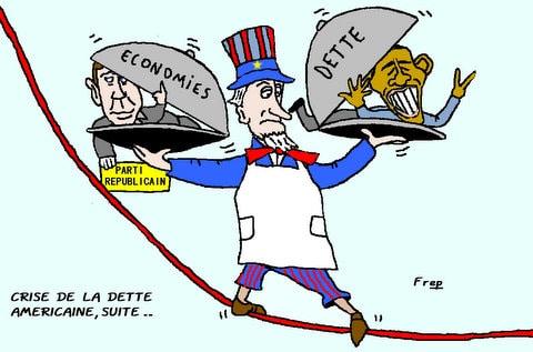 Crise  de  la  dette  américaine , suite . .