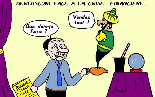 L'Italie endettée victime à son tour des marchés  !