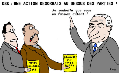 DSK  :   QUEL  RETOUR  ?