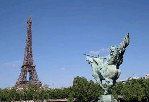 Escapade aoûtienne à Paris.