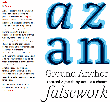 Graphisme : des raffinements typographiques