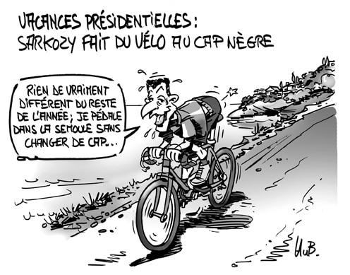 Sarkozy en vacances