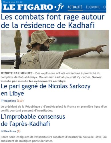 Libye : de très hasardeux paris…