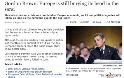 Crise économique : les pois sauteurs d'Alain Minc