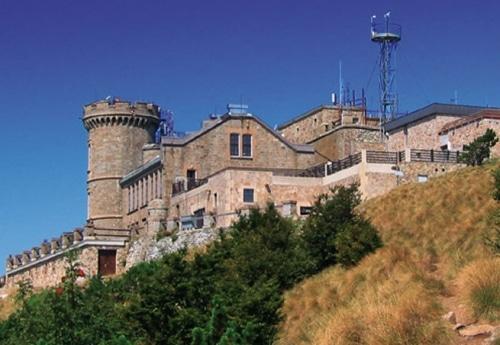 Le Mont Aigoual, Station Météorologique
