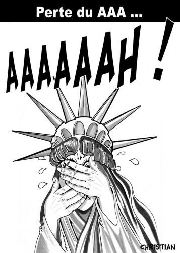 Les USA perdent leur AAA …