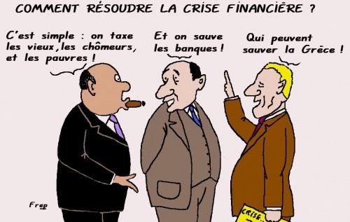 Comment  résoudre  la  crise  financière  ?