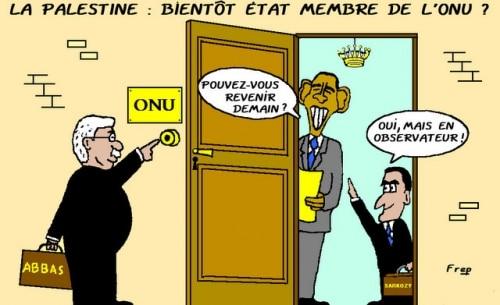 La  Palestine  bientôt  membre  de l'ONU  ?