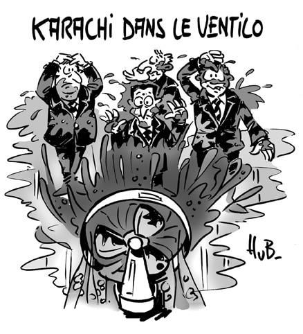 Karachi : retro pédalage pour retrocommissions ?